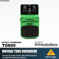 Behringer TO 800 Vintage Tube Overdrive Gitar Pedal Efek Stompbox