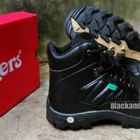 Sepatu Kickers safety Boots (hitam)