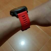 Garmin fenix 3 watch band - RED