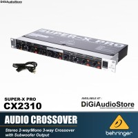 BEHRINGER Super X Pro CX 2310 Audio Crossover Speaker + Subwoofer Out