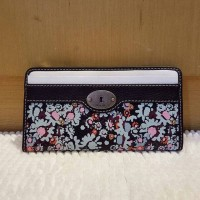 dompet Fossil Marlow Zip clutch authentic 100% original