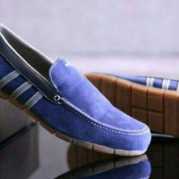 Sepatu Casual Santai Adidas Suede / Slip on Slop Tanpa Tali