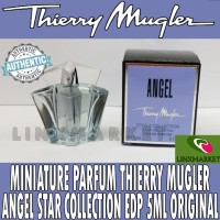 MINIATURE PARFUM THIERRY MUGLER ANGEL STAR COLLECTION EDP 5ML ORIGINAL