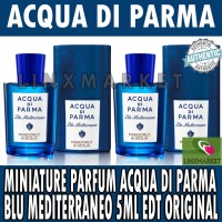 MINIATURE PARFUM ACQUA DI PARMA BLU MEDITERRANEO 5ML EDP ORIGINAL