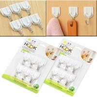 Gantungan Hook Multifungsi / Gantungan Dinding(Isi 6) Organizer - X198