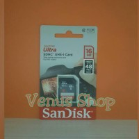 sandisk ultra sdhc sdcard 16gb 48mbps class 10 / sd card 16gb 48mb/s