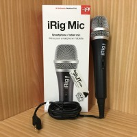 IK Multimedia iRig Mic/Microphone Smartphone/Tablet For iOS & Android