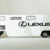 Tomica Long LEXUS GAZOO Racing Transporter Toyota Toys R Us Exclusiv S