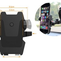 Universal Car Mobile Phone Holder Smartphone Long Neck One Touch Mount