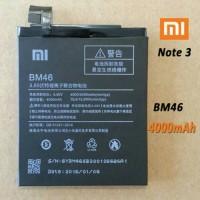Batre Batrei Baterai Battery Xiaomi Redmi Note 3  BM46  BM-46 Original