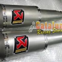 harga Knalpot Ninja 250 Fi/ Karbu Akrapovic Gp M1 Sandblasting Titanium Tokopedia.com