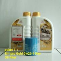HONDA EN- PRO GOLD + OLI FILTER
