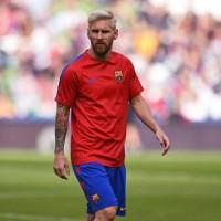 Jersey Original Prematch Nike FC Barcelona Dry Squad Top 2016-2017