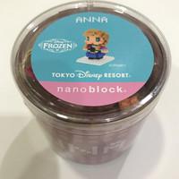 Jual Tokyo Disney Resort Nanoblock ANNA FROZEN Murah