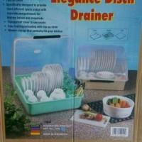 Rak Piring / Tempat Piring Negata / Elegance Dish Drainer (Ada Tutup)