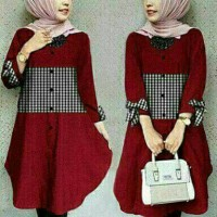 Tunik zoya red-X10