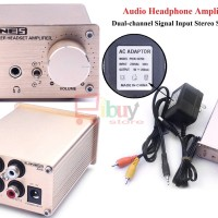 LINEP A910 Audio Headphone Amplifier Dual-Channel - CHAMPAGNE