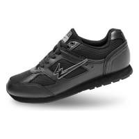 Sepatu sekolah yuk.. EAGLE SHANNON Black hitam mantap
