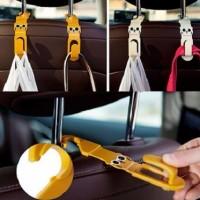 Gantungan Mobil Car Hanger tas belanja Cartoon Rilakkuma Hanger Hook