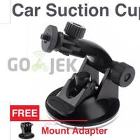 Jual Car Suction Cup Mount Holder for GoPro Xiaomi Yi Action Camera Murah