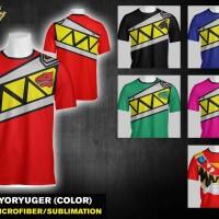 T Shirt Full Print Kyoryuger