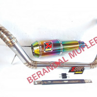 KNALPOT RACING NEWJUPITER MX/MK LAMA/SONIX/PULSAR 200NS