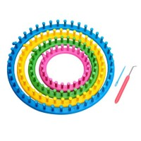 Round Knitting Loom Set Bulat Knit Quick