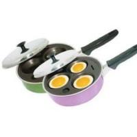 Wajan penggorengan teflon yang bagus serbaguna pembuat telur mata sapi