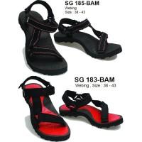 Sandal Gunung Kuat /sandal premium pria dan wanita / sendal slop jepit