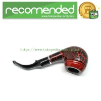 Classic Wooden Enchase Carved Smoking Pipes / Pipa Rokok - CH-5581 - B