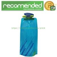 Botol Minum Lipat 700ML - Blue
