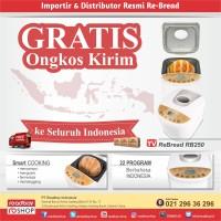 ReBread RB250 Gold FREE ONGKIR / Mesin Roti Otomatis / Breadmaker