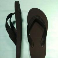 Jual Sandal Jepit Sun Swallow Hitam Polos Murah