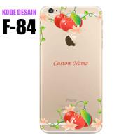 LG G3 Stylus - Softcase Custom Case Casing Flower F-84