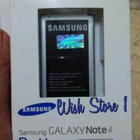 Original 100% Battery Baterai Batre Batere Samsung Galaxy Note 4 Note4