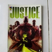 komik DC justice no.2 terbitran PMK