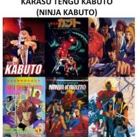 Koleksi Karasu Tengu Kabuto/Ninja Kabuto Complete