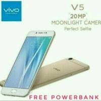 Vivo V5 ram 4GB 4G LTE garansi resmi 2 tahun bonus power bank dll