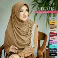 Jilbab Instan Laperle hijab sehari hari polos simpel