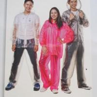 Jas Hujan Raincity Stelan Ritz 69110 Transparan Raincoat Mantel PVC SP