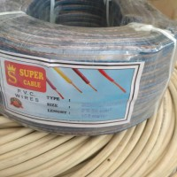 kabel transparan 2x30 superindo cable
