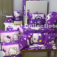 HOMESET HELLOKITTY ANGEL UNGU