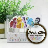 Lilin Kue Little Pony / Lilin Ulang Tahun Little Pony / Lilin Karakter