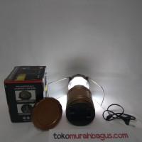 POWER BANK SOLAR / LAMPU TARIK EMERGENCY TENAGA SURYA / LED G-85 MURAH