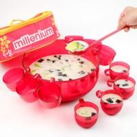 Millenium Cocktail Bowl (MERAH) / wadah tempat mangkok gelas cangkir