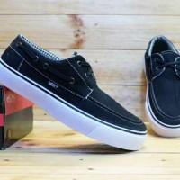 sepatu pria vans zapato original premium black 39-43