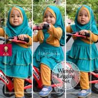 Gamis Anak Balita   Baju Anak Muslim Online   Setelan Gamis 1-2 tahu S