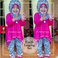 baju anak perempuan/baju muslim anak/ gamis anak/legging anak/farah SP