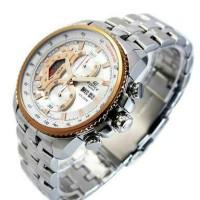 CASIO ORIGINAL PRIA edifis EF-558D-7A jam analog chronograph