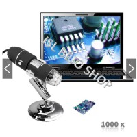 Mikroskop 2MP 1000x 8LED USB | Digital Microscope1000x zoom